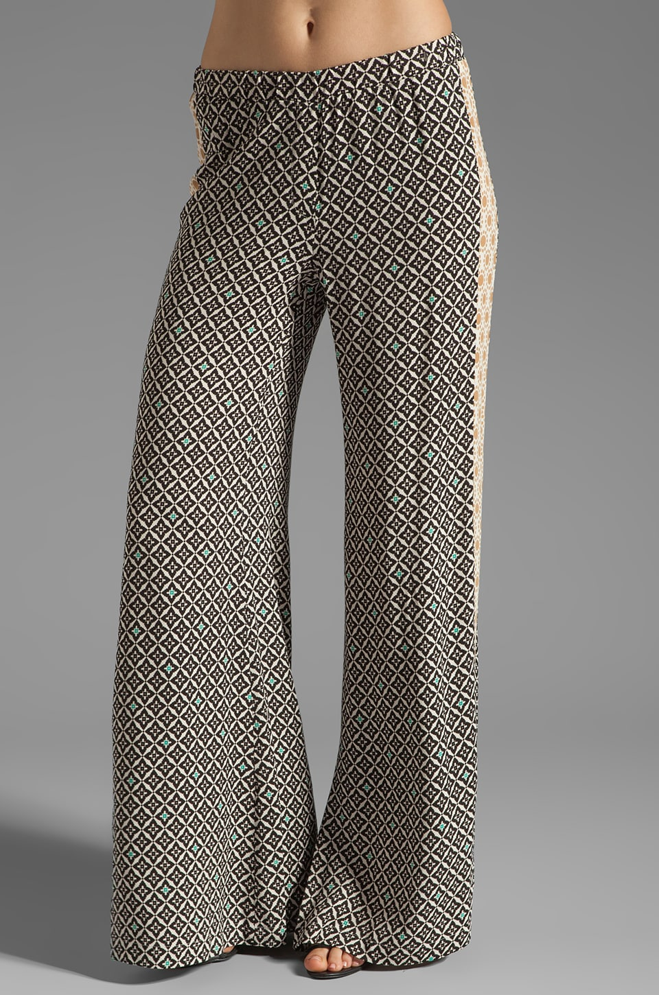 Ella Moss Sun Tile Pant in Black