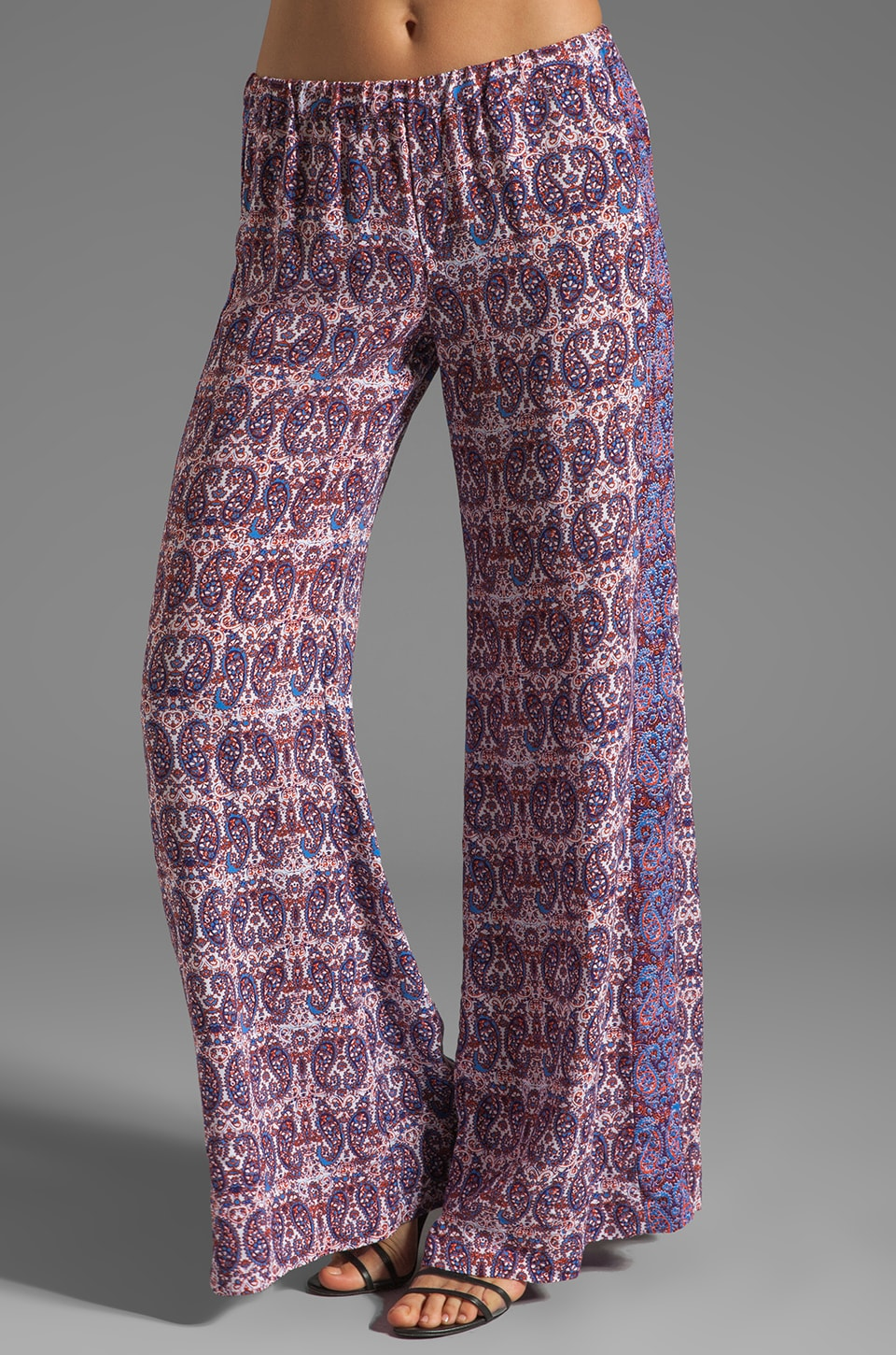 Ella Moss Kasbah Paisley Pant in Royal