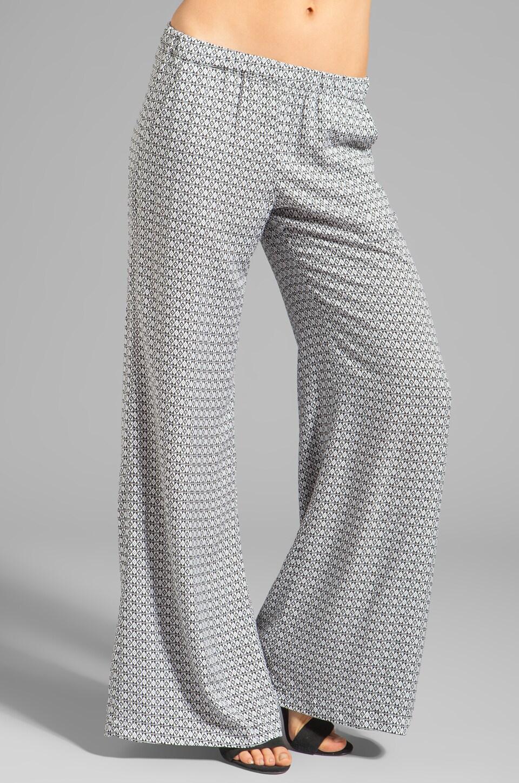 Ella Moss Izabella Pant in Linen/Black