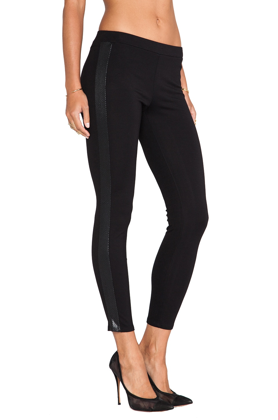 Ella Moss Constance Legging in Black