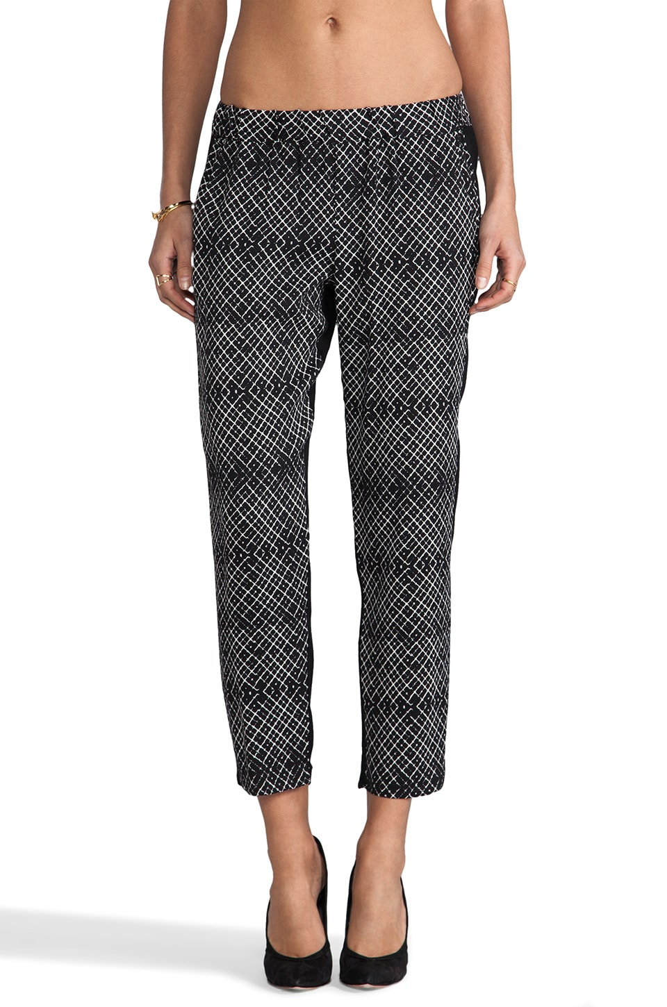 Ella Moss Kori Pants in Natural & Black
