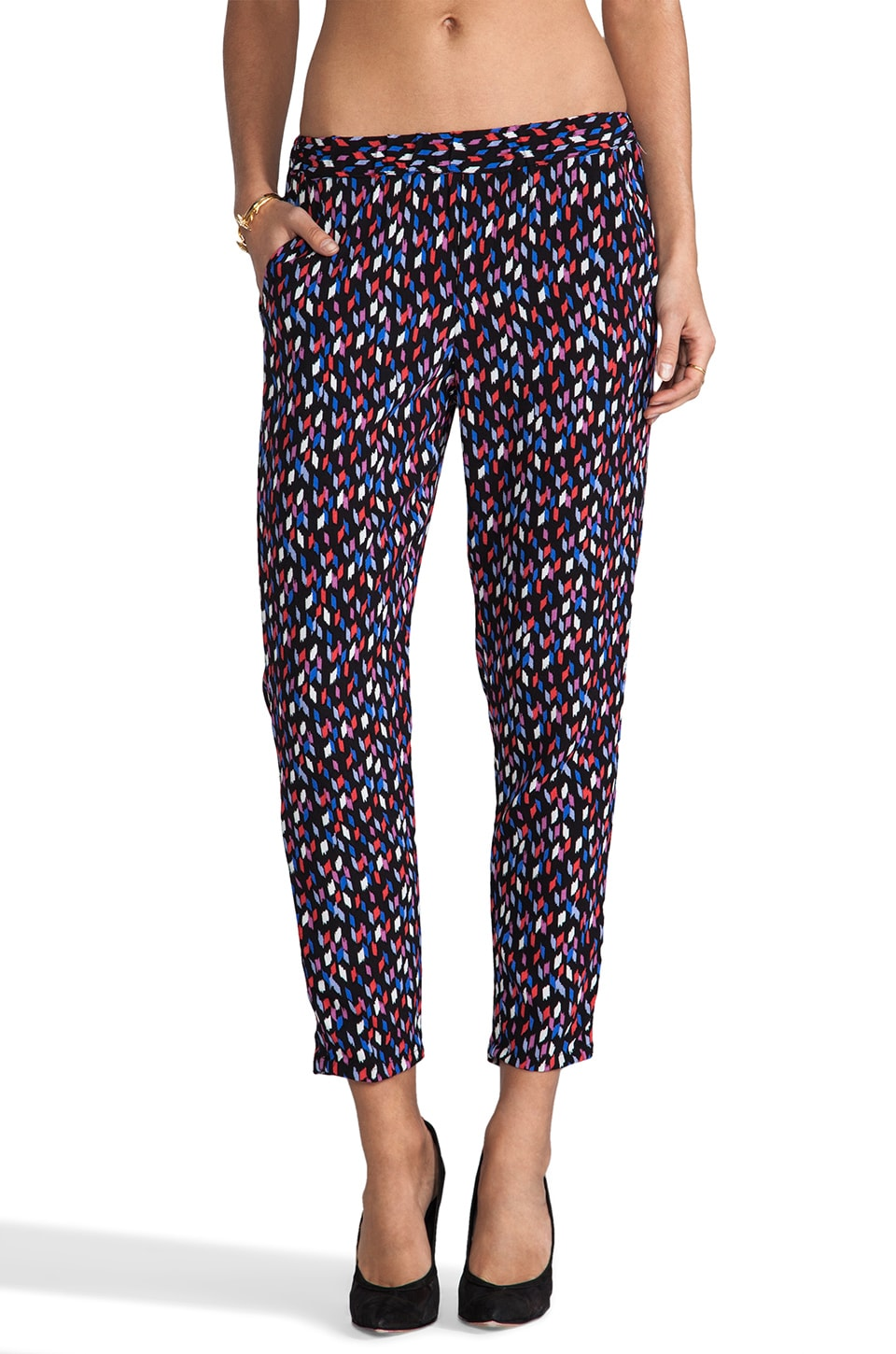 Ella Moss Lana Pant in Black