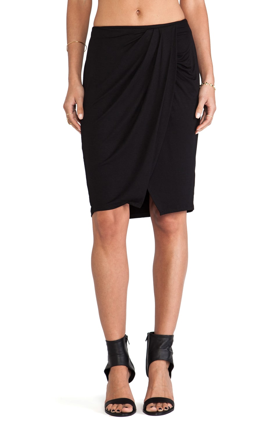Ella Moss Tali Skirt in Black