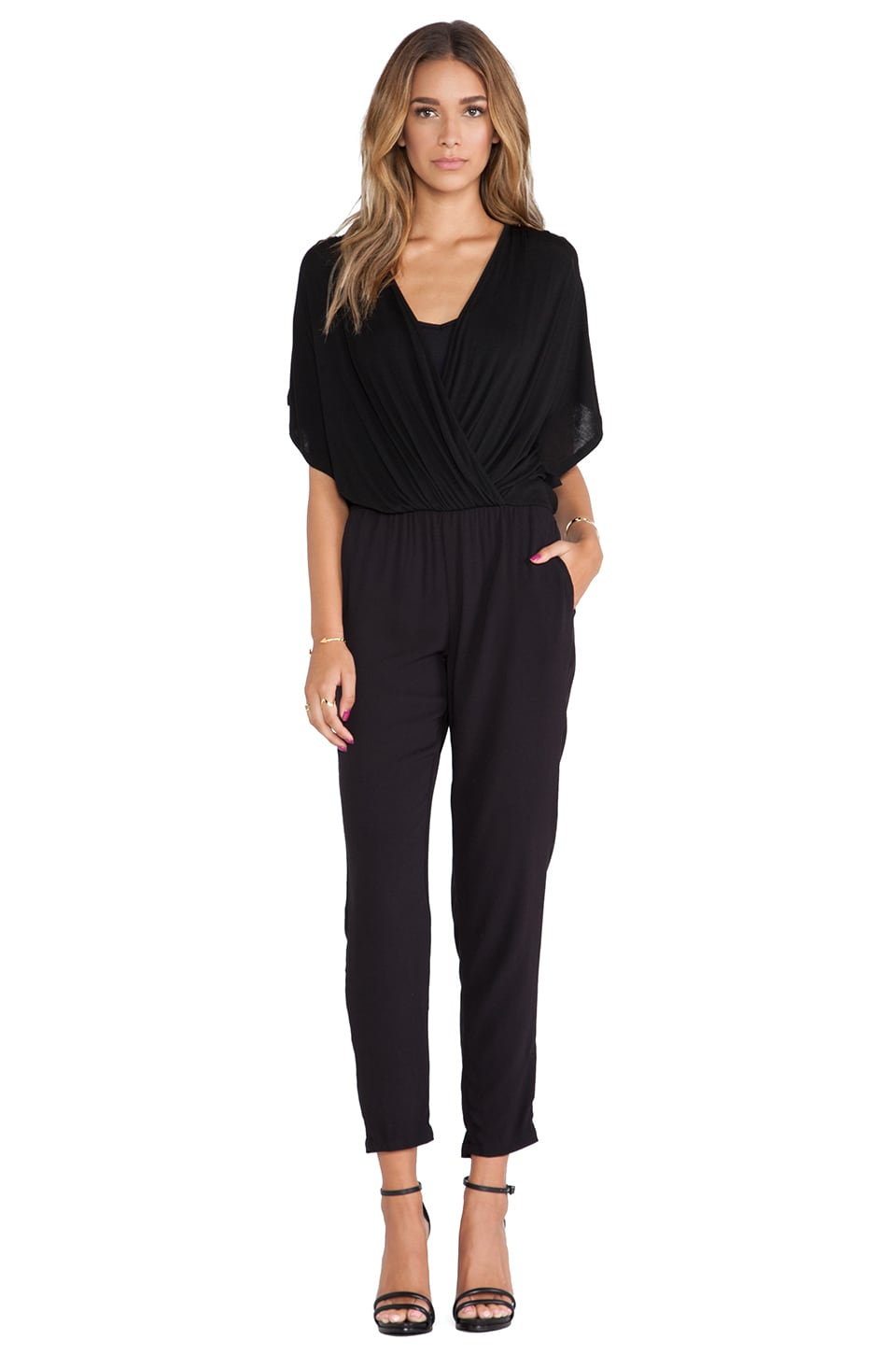 Ella Moss Icon Jumpsuit in Black