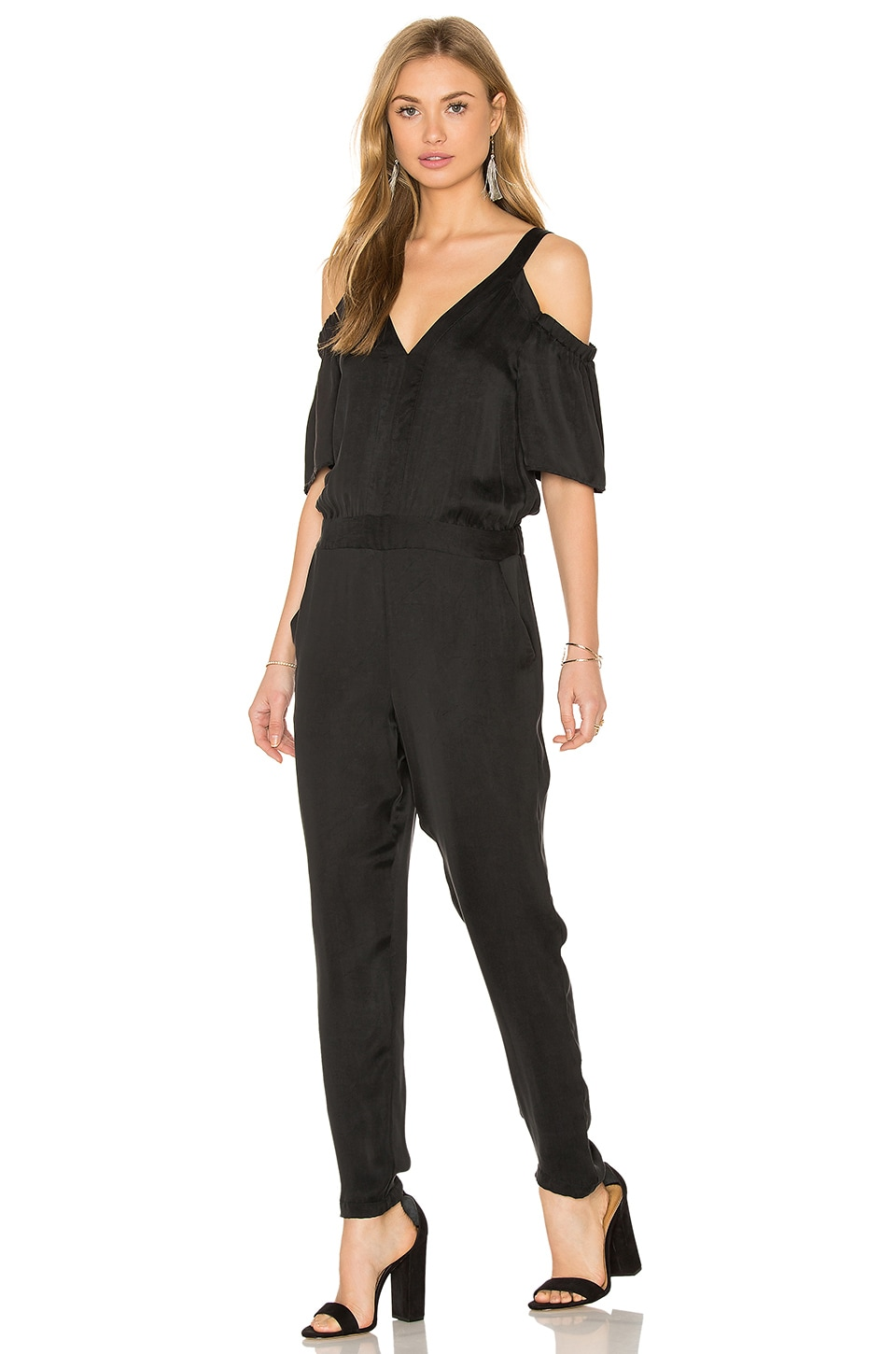 Cold Shoulder Jumpsuit by Ella Moss