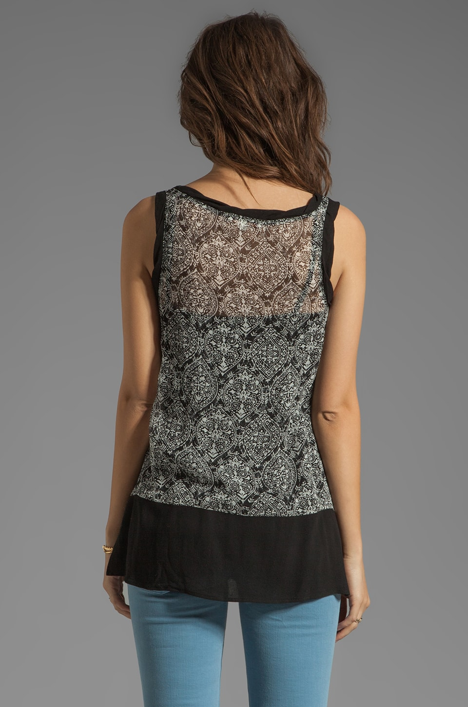 Ella Moss Cisco Tank in Black