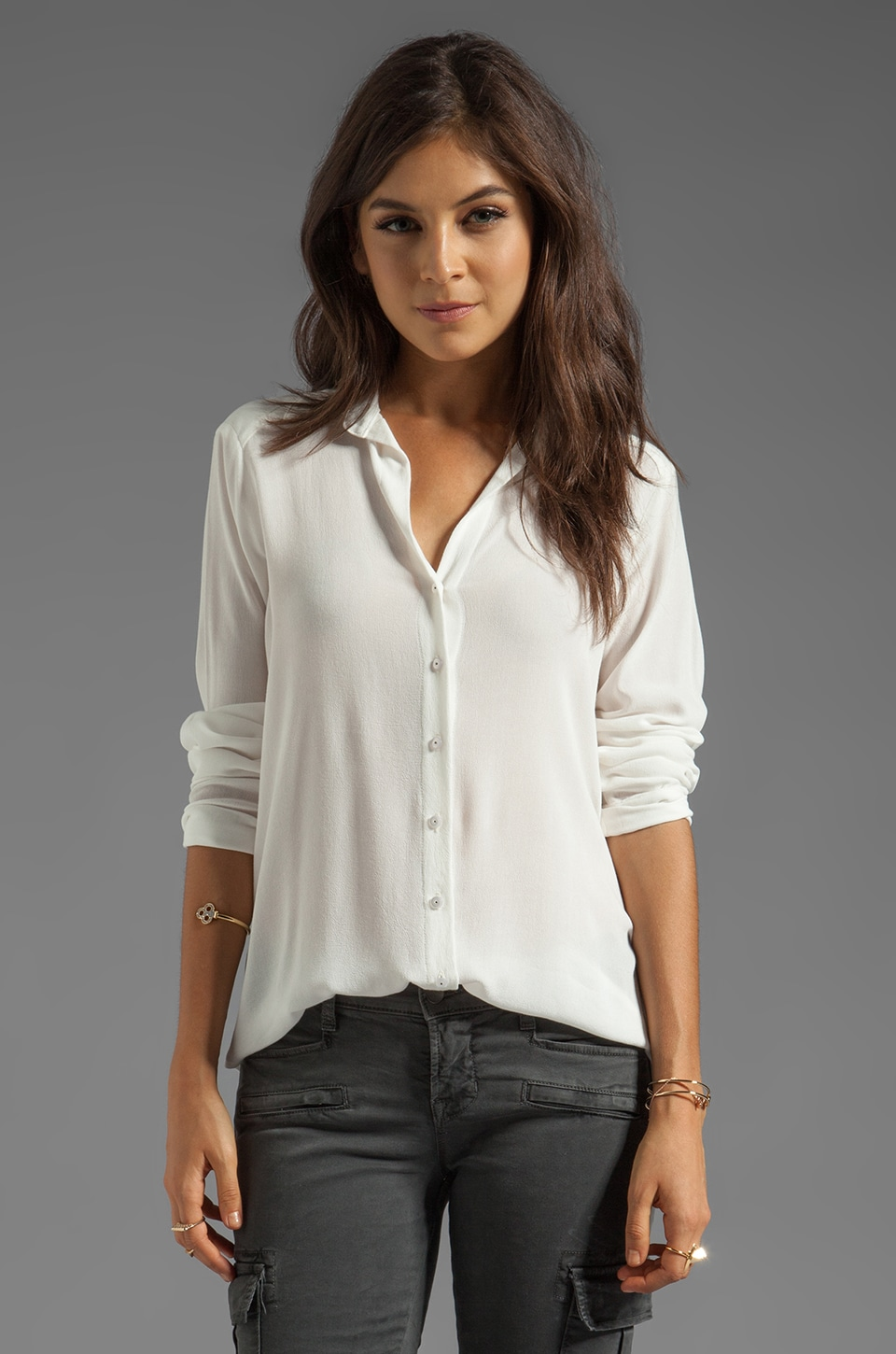 Ella Moss Waverly Blouse in Natural