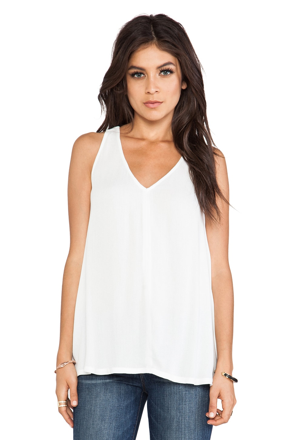 Ella Moss Stella Tank in Natural