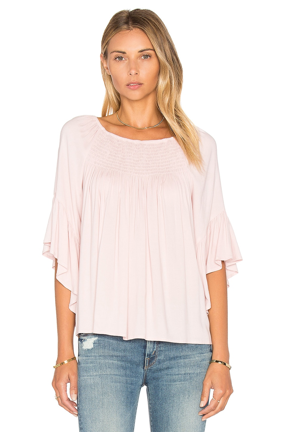 Stella Ruffle Top by Ella Moss