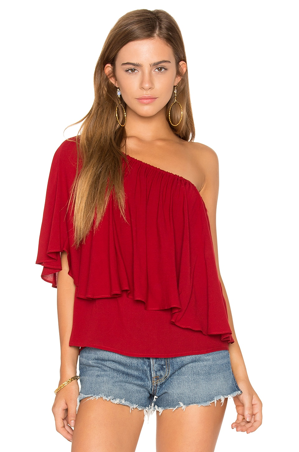 Ella Moss Stella Top in Brick