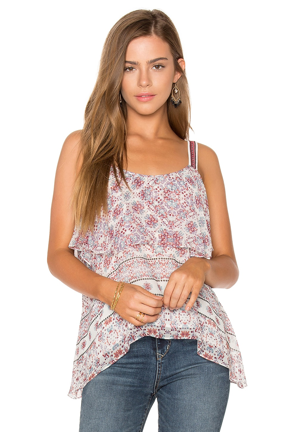 Ella Moss Wayfare Top in Natural