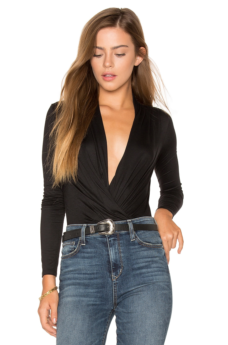 Ella Moss Bella Bodysuit in Black