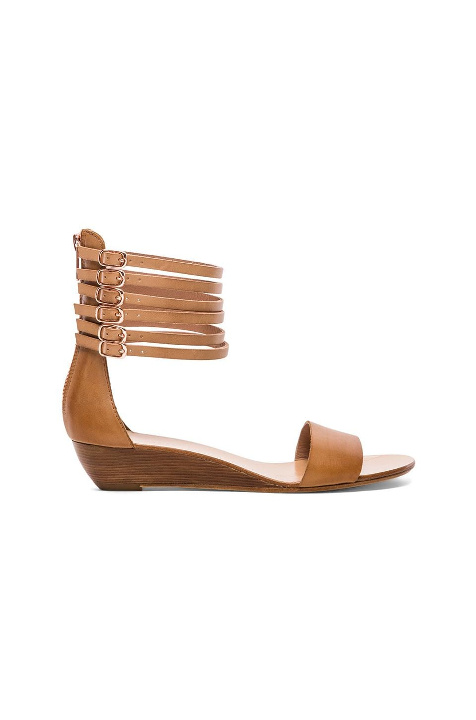 Ella Moss Harleigh Flat Sandals in Light Tan