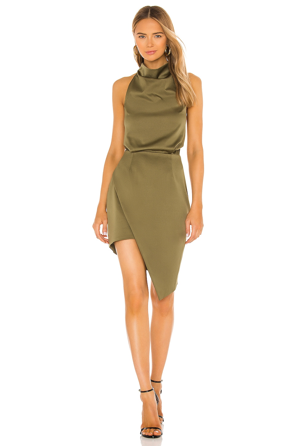 ELLIATT Camo Dress in Khaki