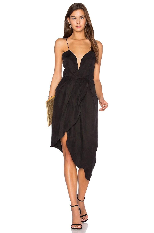 ELLIATT Bare Tulip Dress in Black