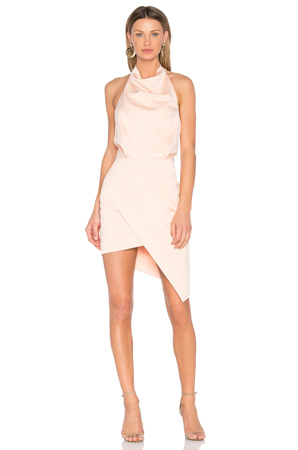 ELLIATT x REVOLVE Camo Dress in Blush