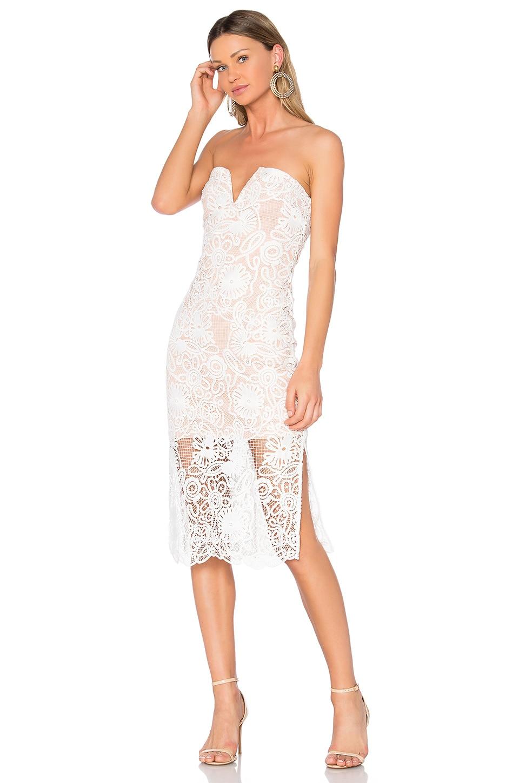ELLIATT Serenity Midi Dress in Ivory