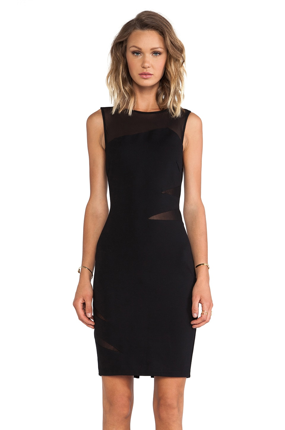 ELLIATT Secrets Dress in Black