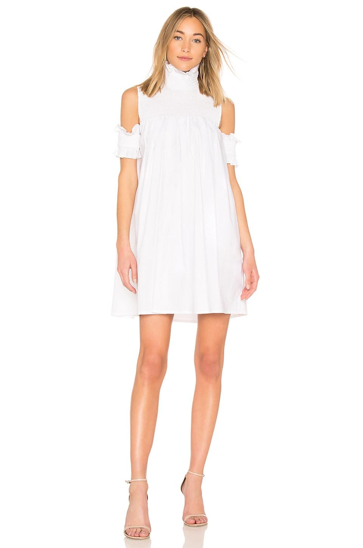 ELLIATT Lily Shirt Dress in White