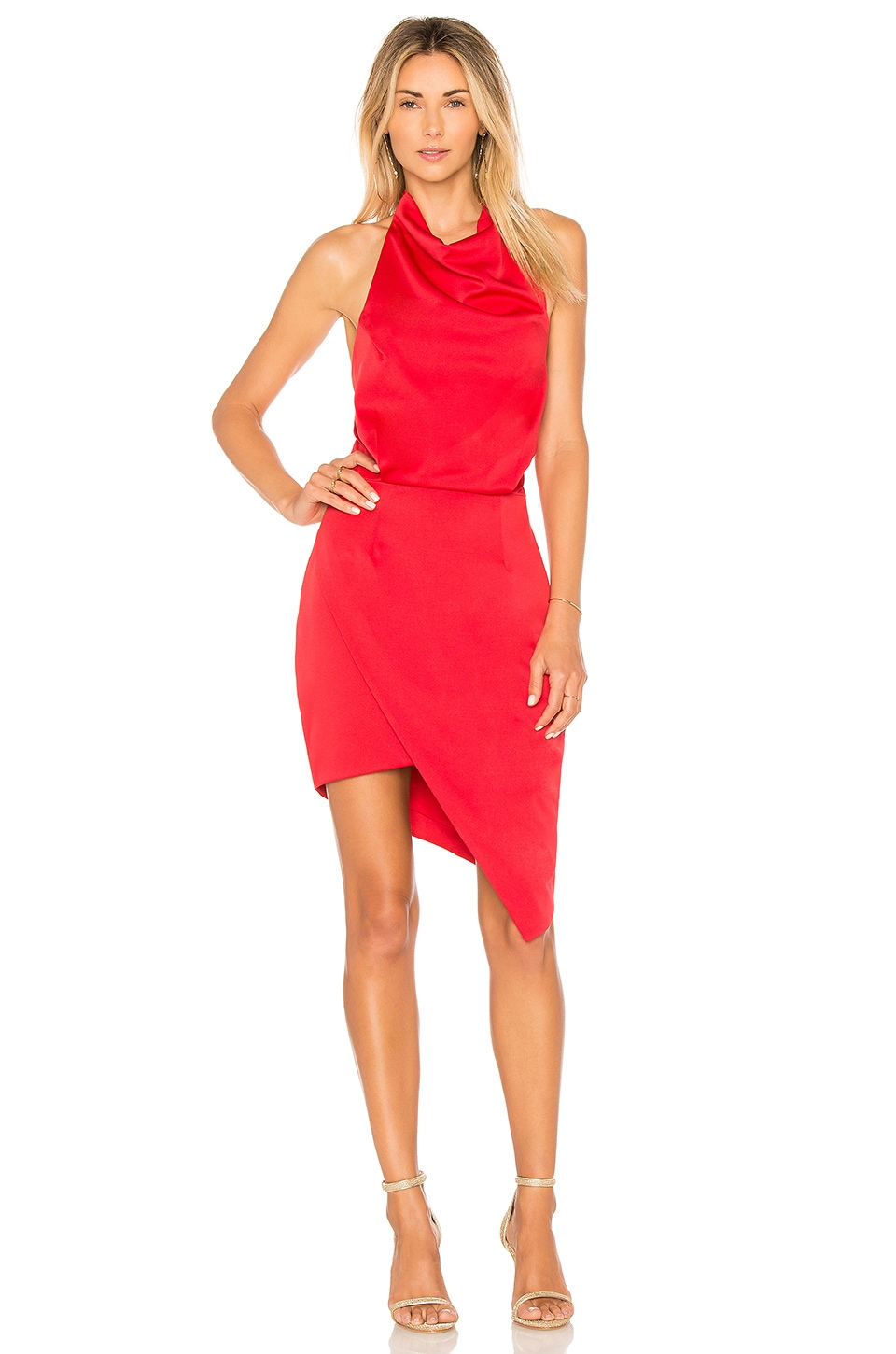 ELLIATT x Revolve Camo Dress in Red