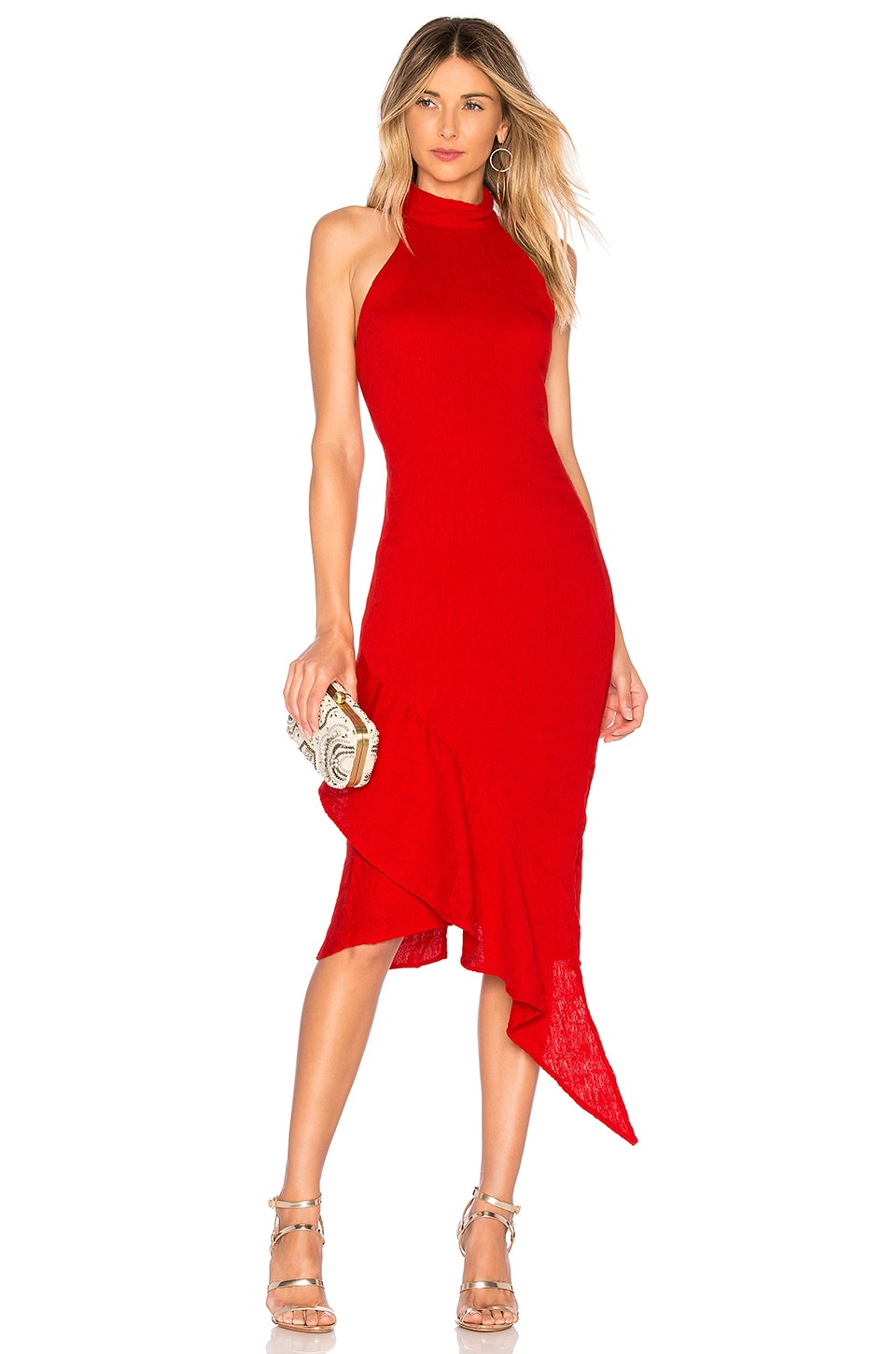 ELLIATT Felice Dress in Red