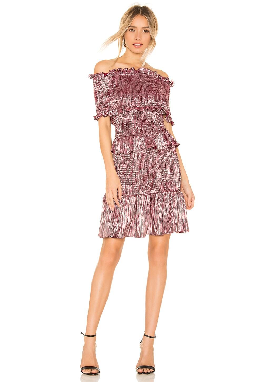 ELLIATT Radiant Dress in Berry