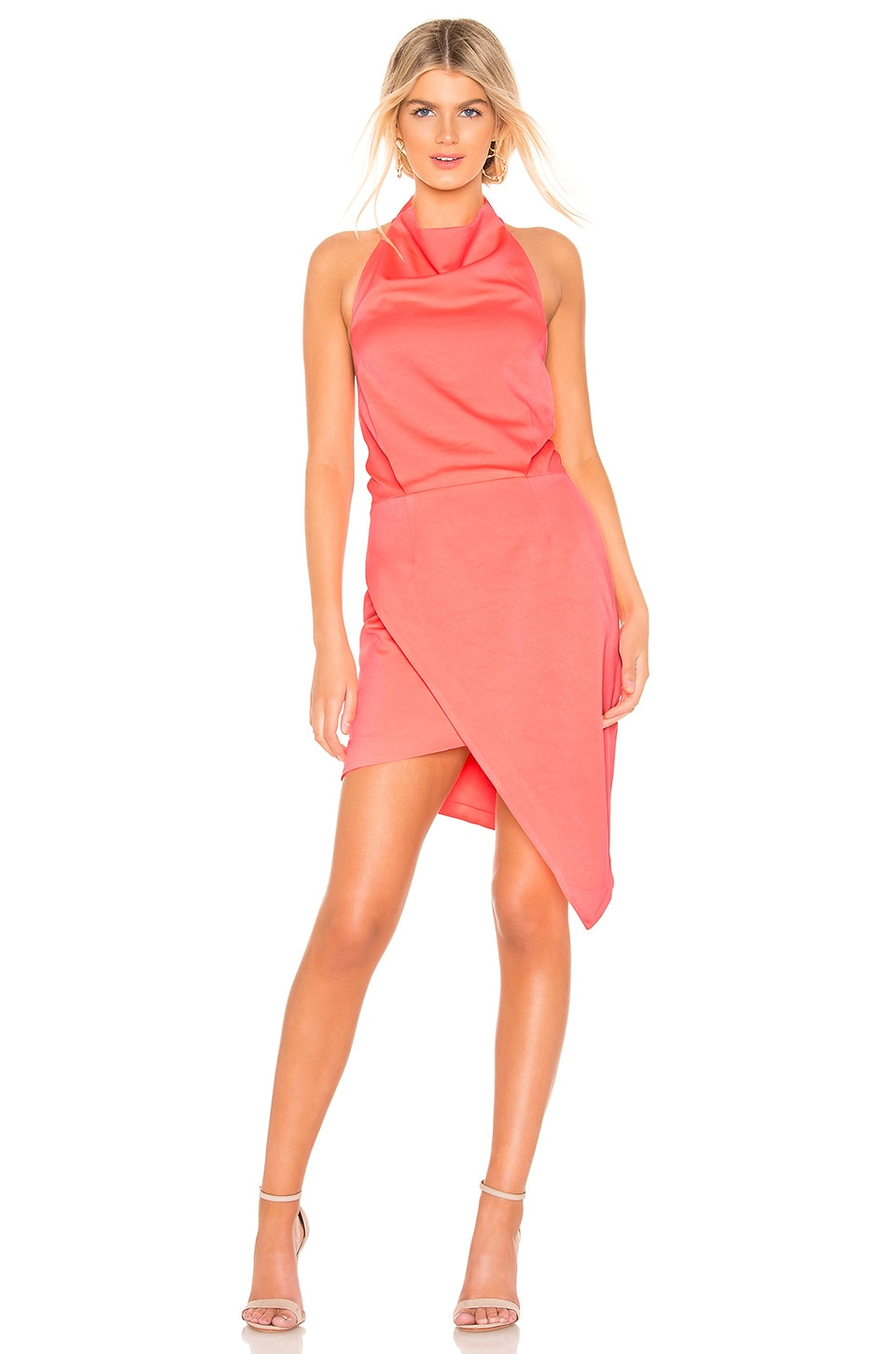 ELLIATT X REVOLVE Camo Dress in Neon Coral