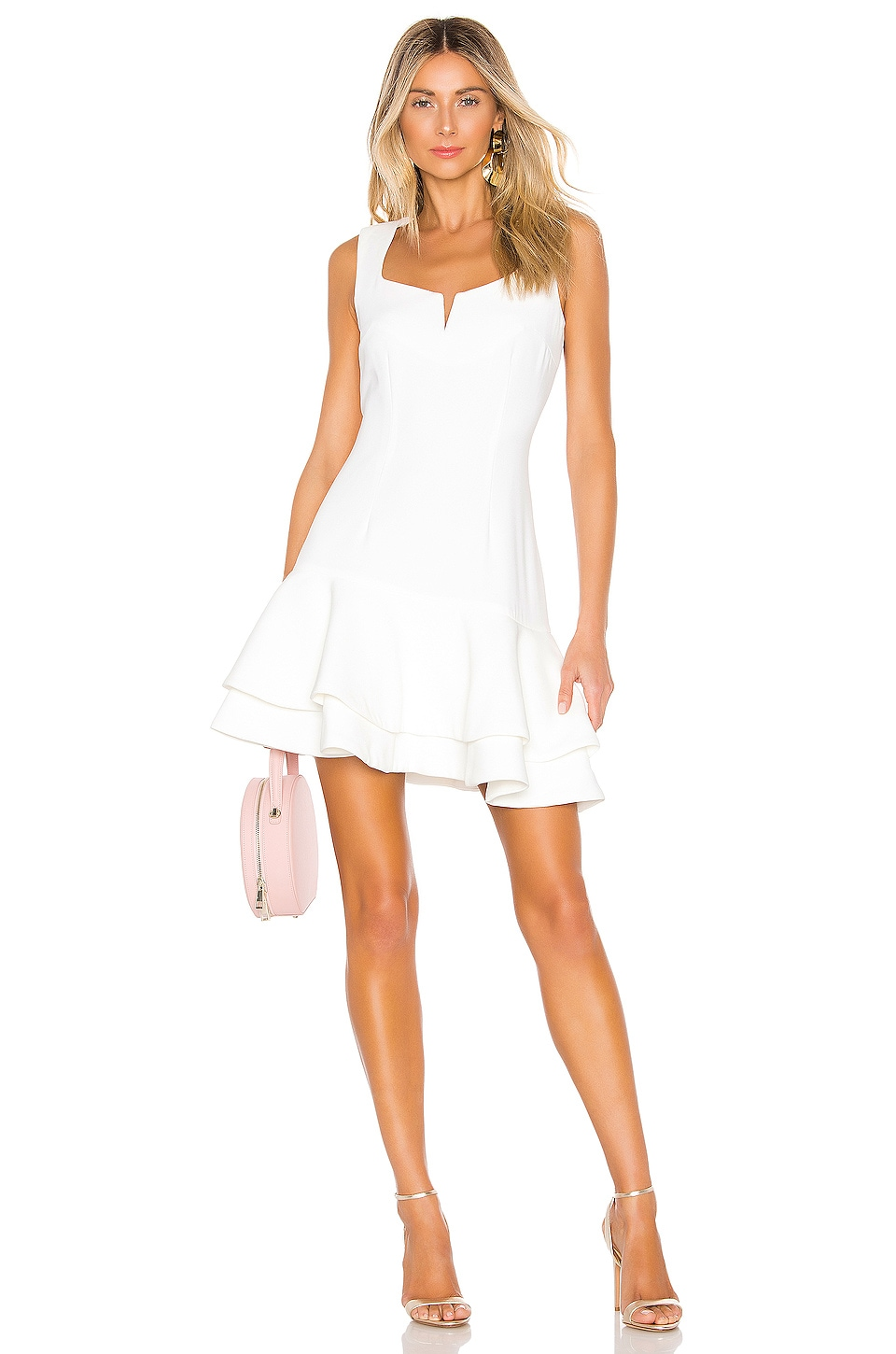 ELLIATT Midnight Dress in White