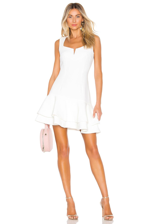ELLIATT Midnight Dress in White