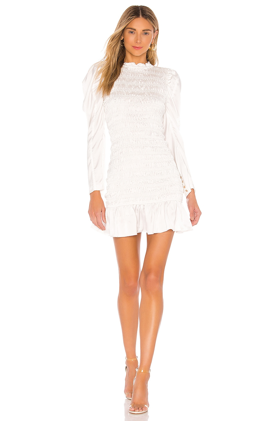 ELLIATT Cyrene Dress in White