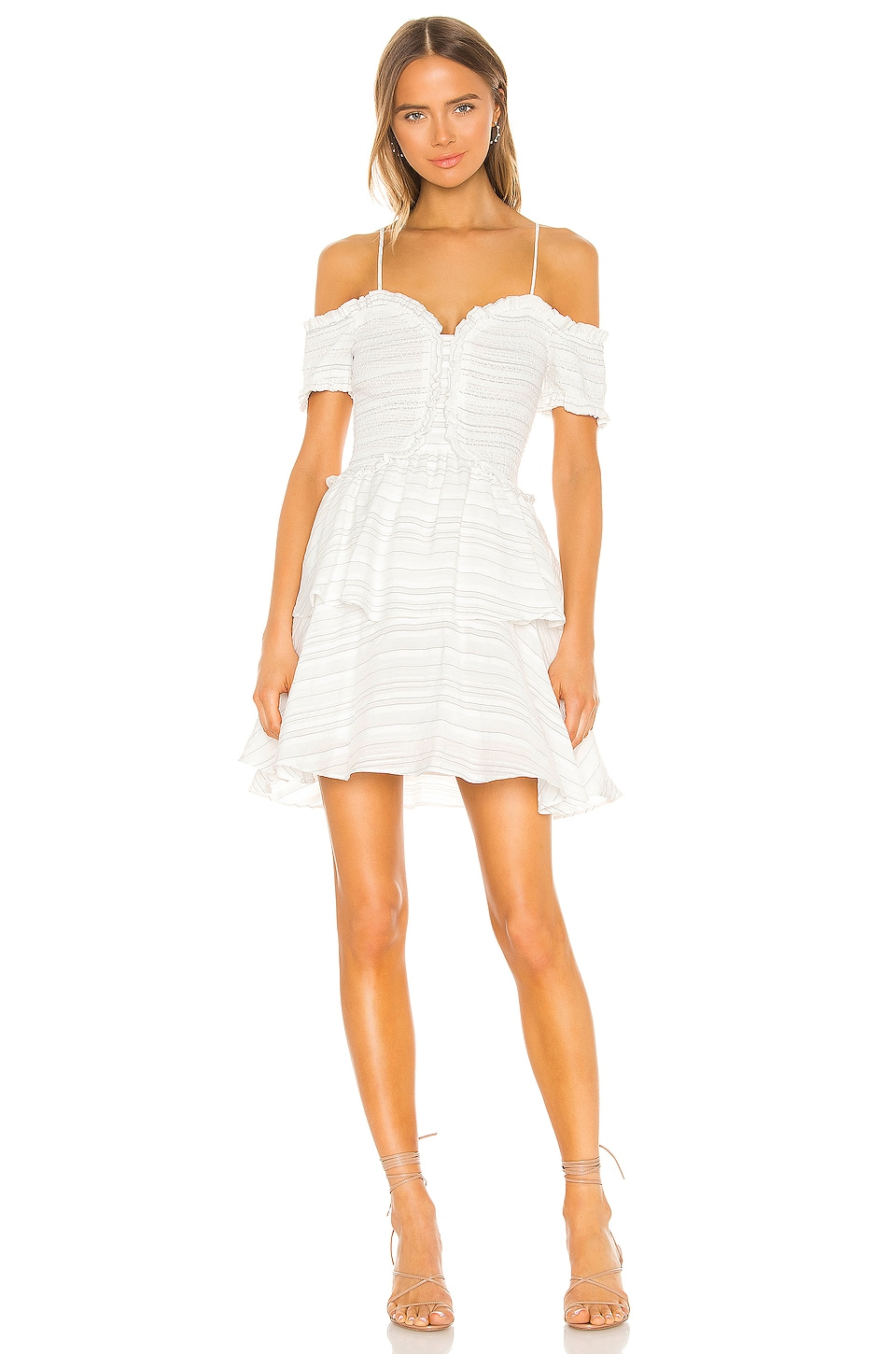 ELLIATT Lavinia Dress in White