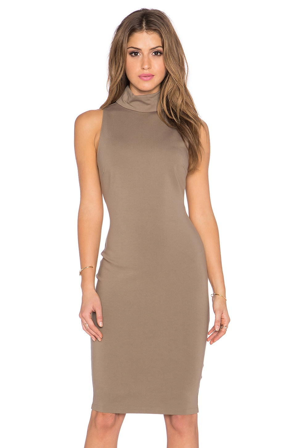 ELLIATT Modern Dress in Khaki