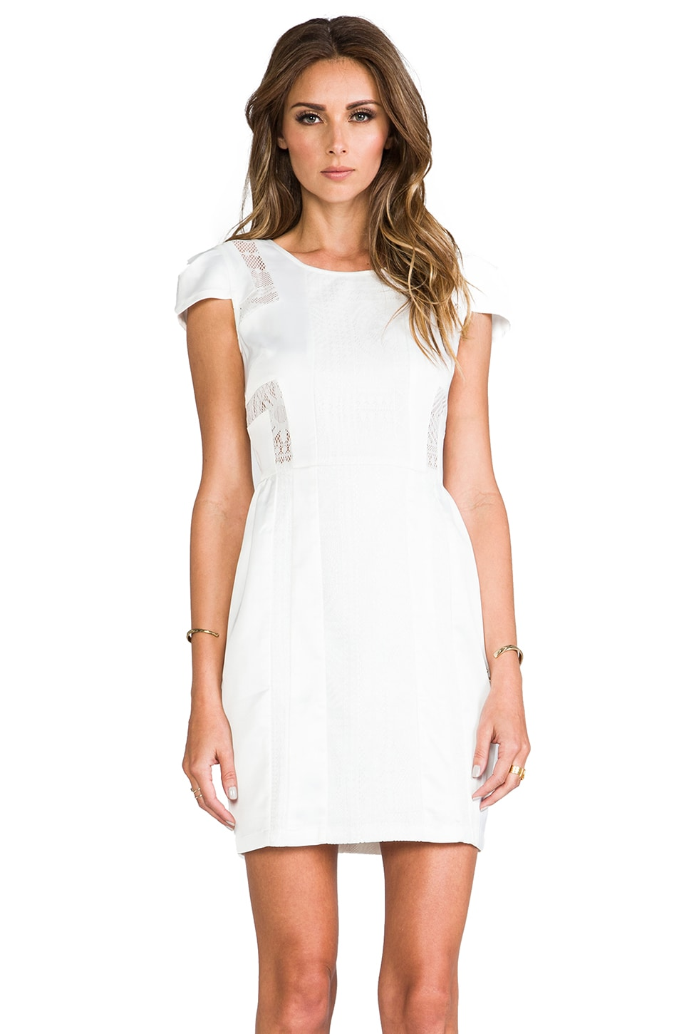 ELLIATT The Tower Dress in White