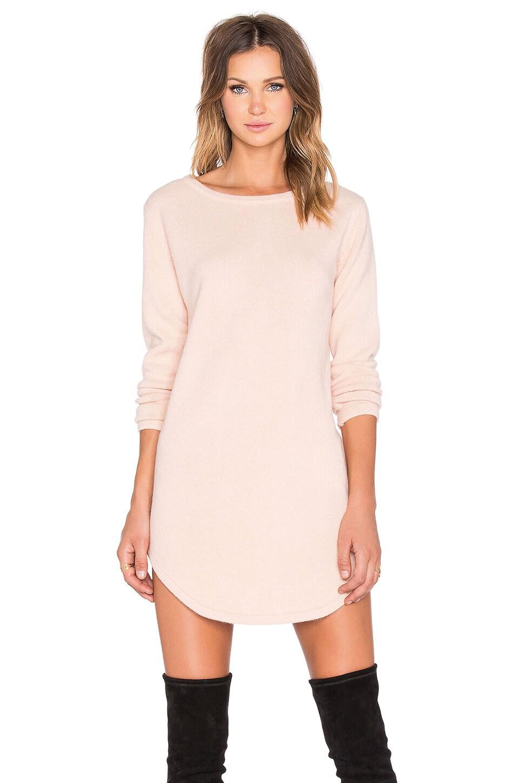 ELLIATT Territory Sweater Dress in Blush