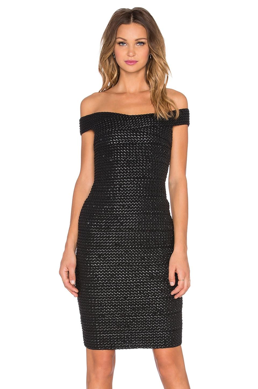 ELLIATT Invigoration Dress in Black