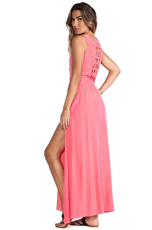 ELLIATT Santiago Maxi Dress in Melon Glow