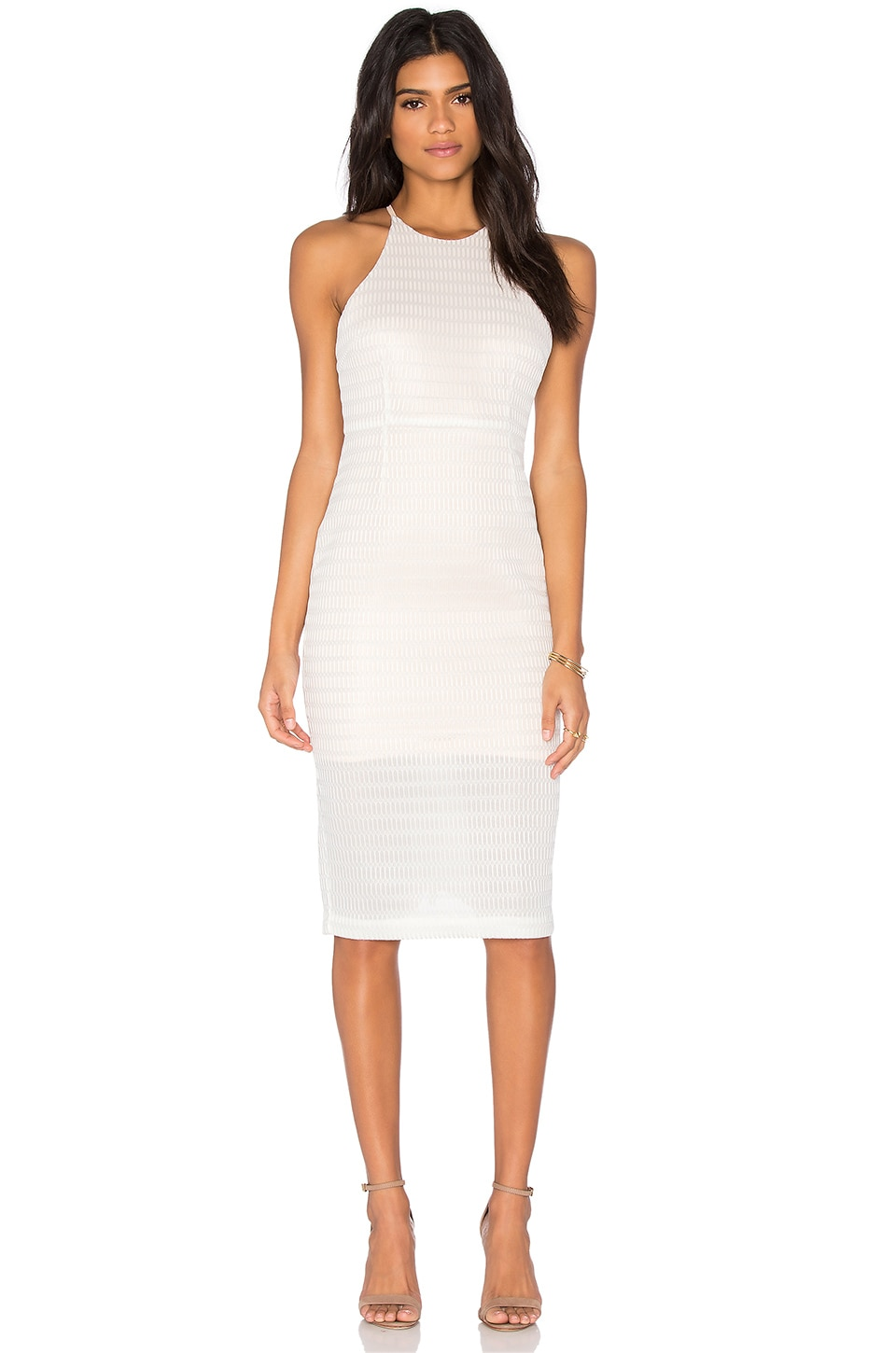 ELLIATT Daring Dress in Ivory