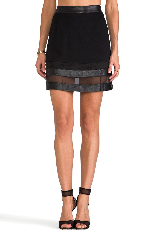 ELLIATT The Pursuit Skirt in Black