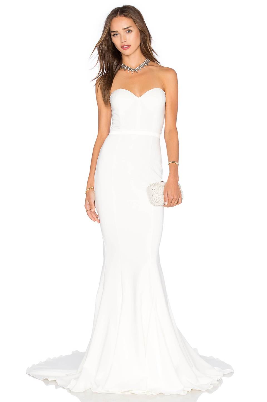 Elle Zeitoune Arianna Dress in White