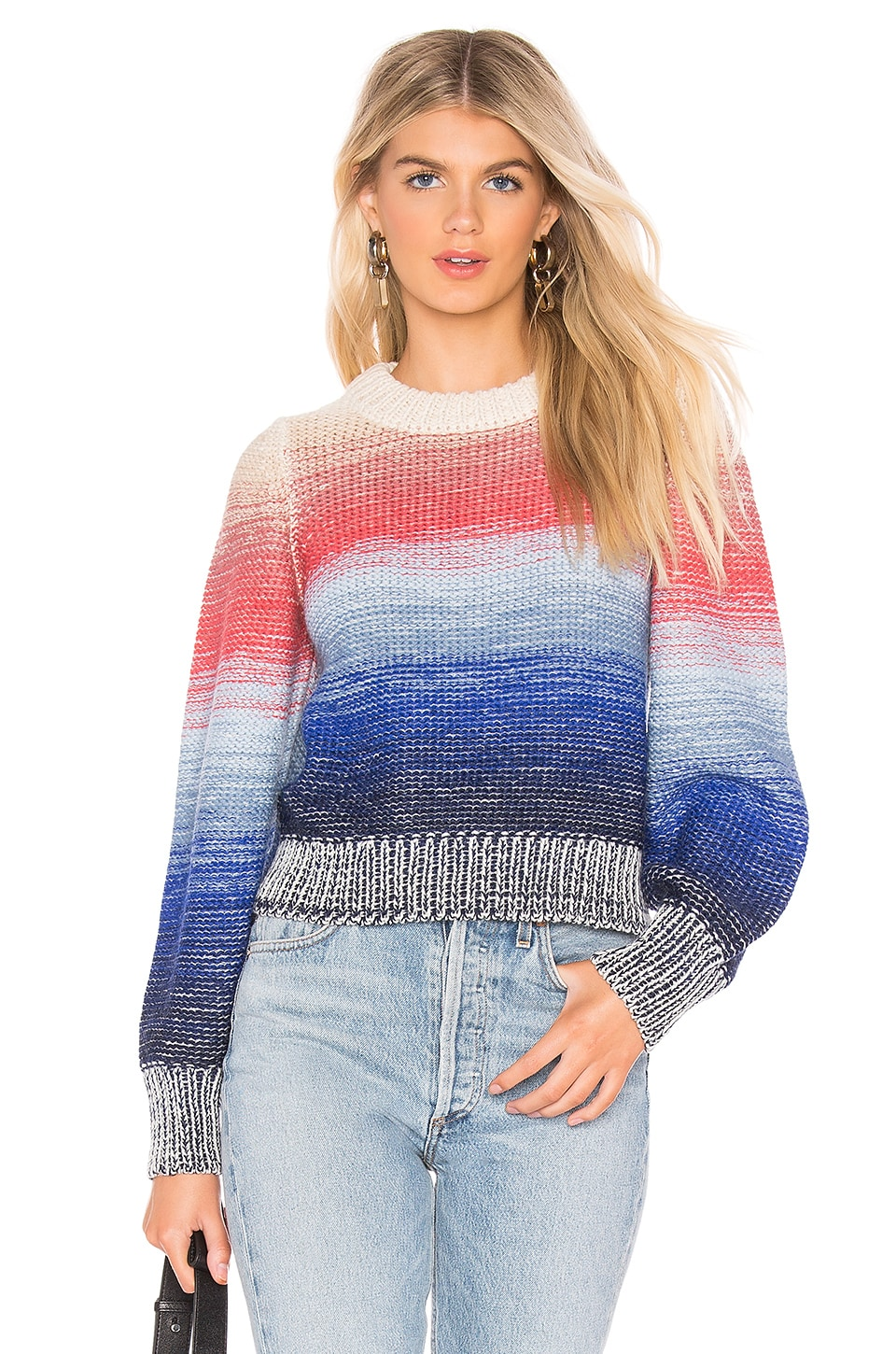 Eleven Six ELEVEN SIX LUCY SWEATER IN BLUE.