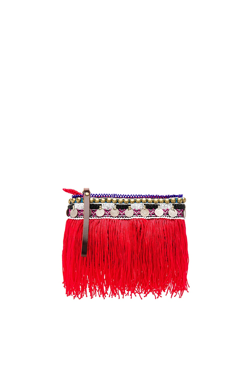 Indie Beaded Pouch by Elliot Mann