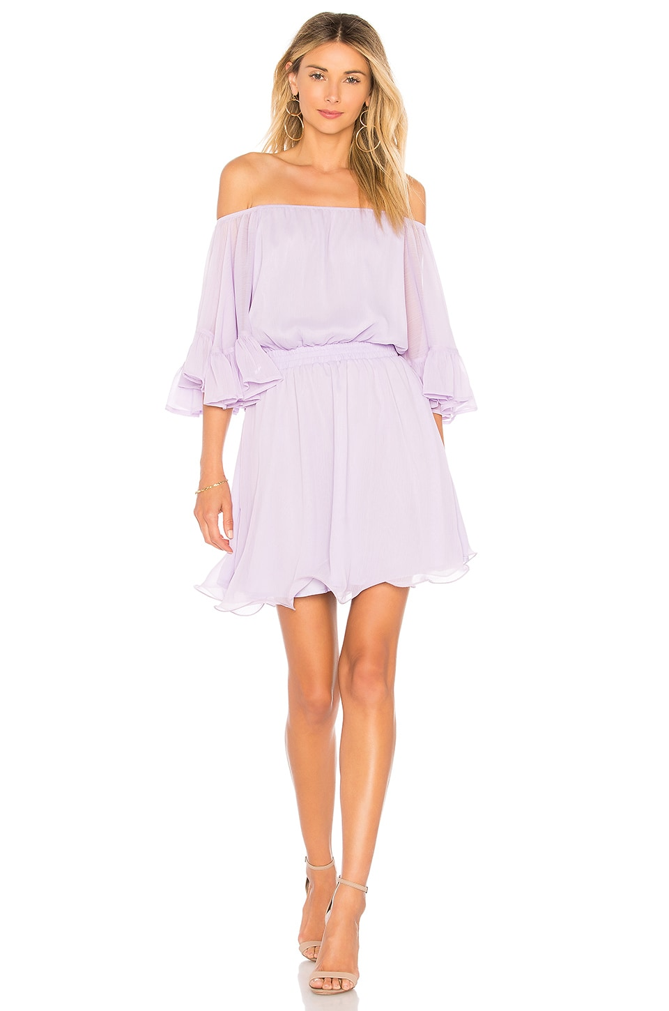 Endless Rose X REVOLVE Ruffle Mini Dress in Lilac