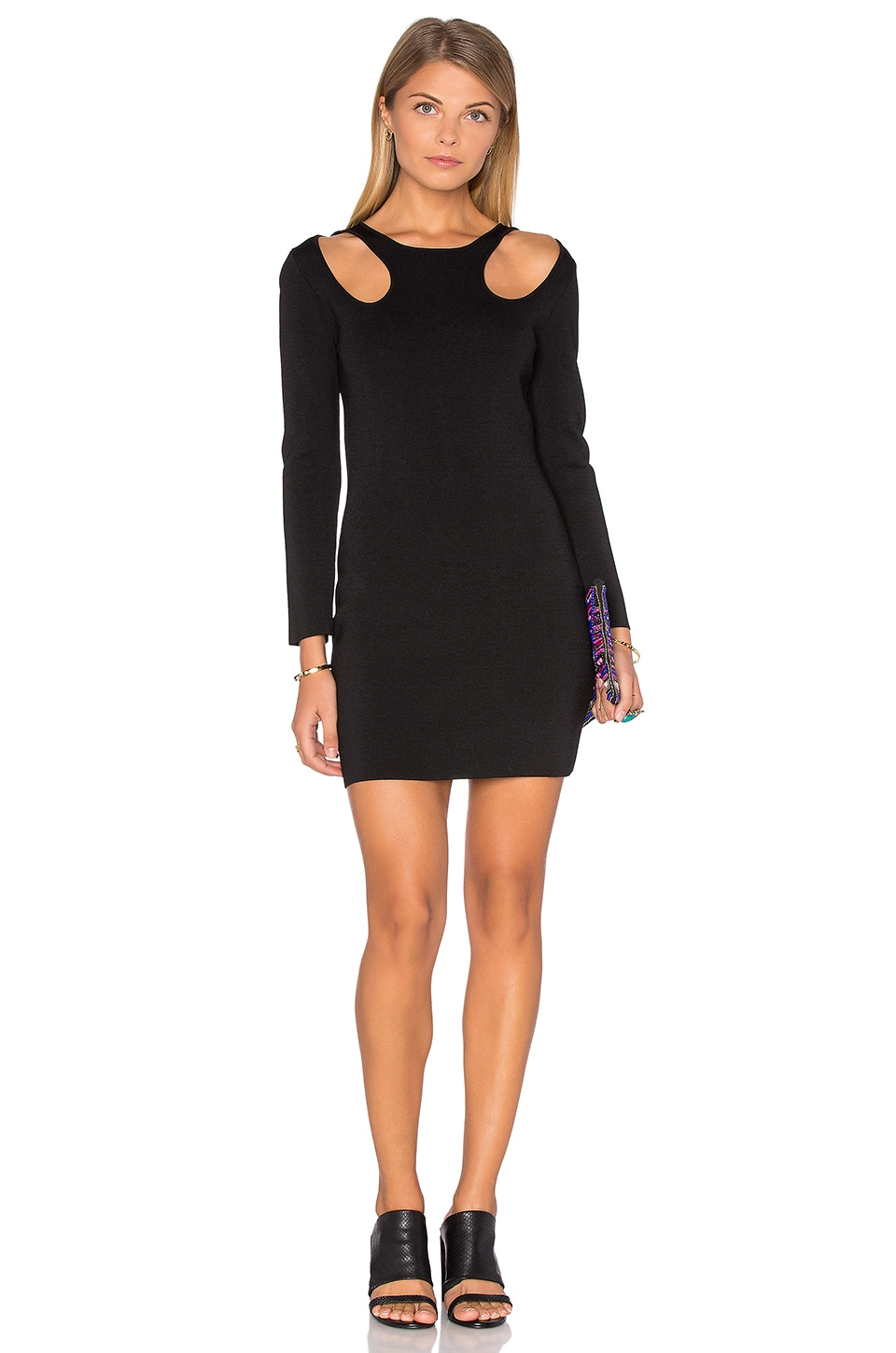3/4 Sleeve Bodycon Dress by Endless Rose