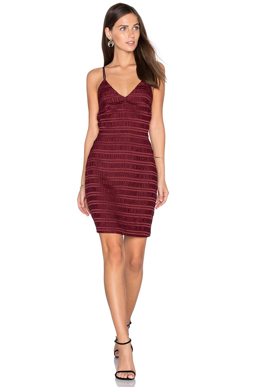 Sleeveless V Neck Mini Dress by Endless Rose