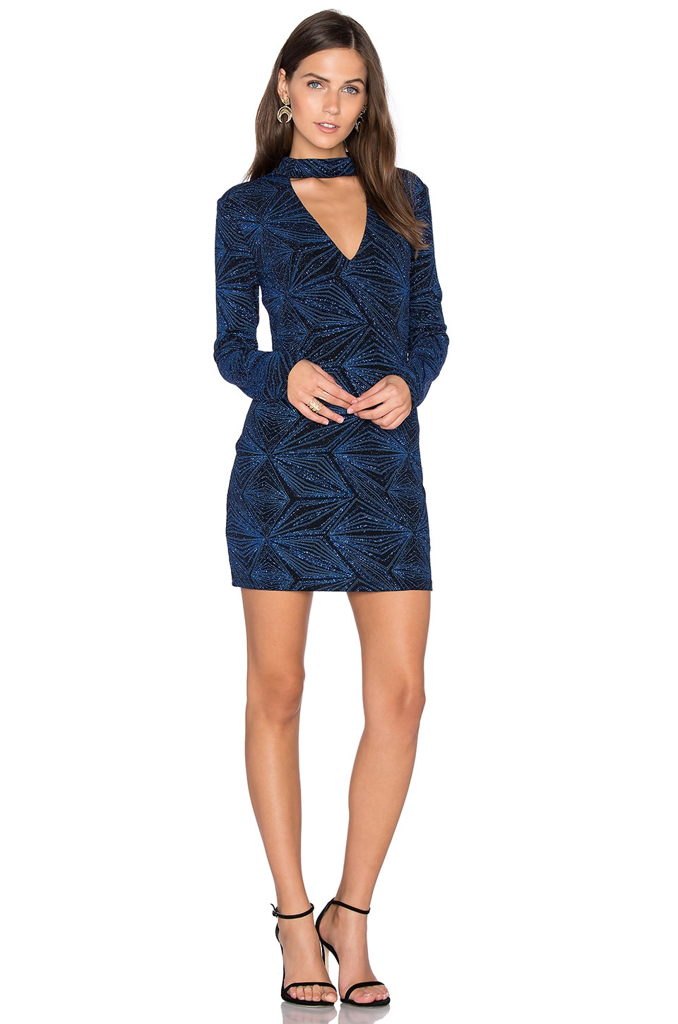 Long Sleeve Bodycon Dress by Endless Rose