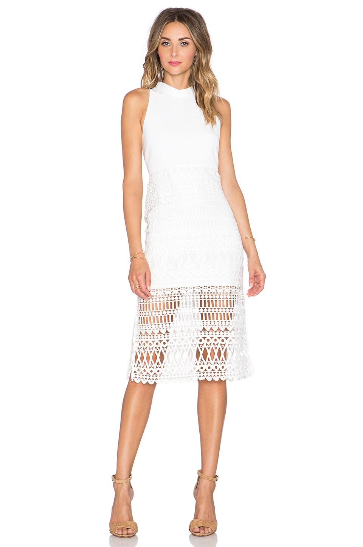 Endless Rose Crochet Dress in Off White