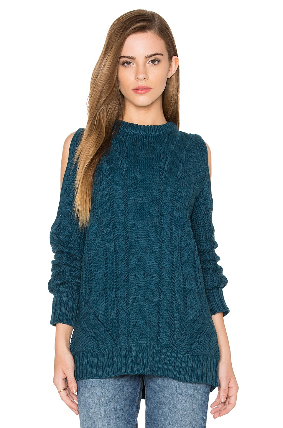 Cut Out Sleeve Sweater by Endless Rose