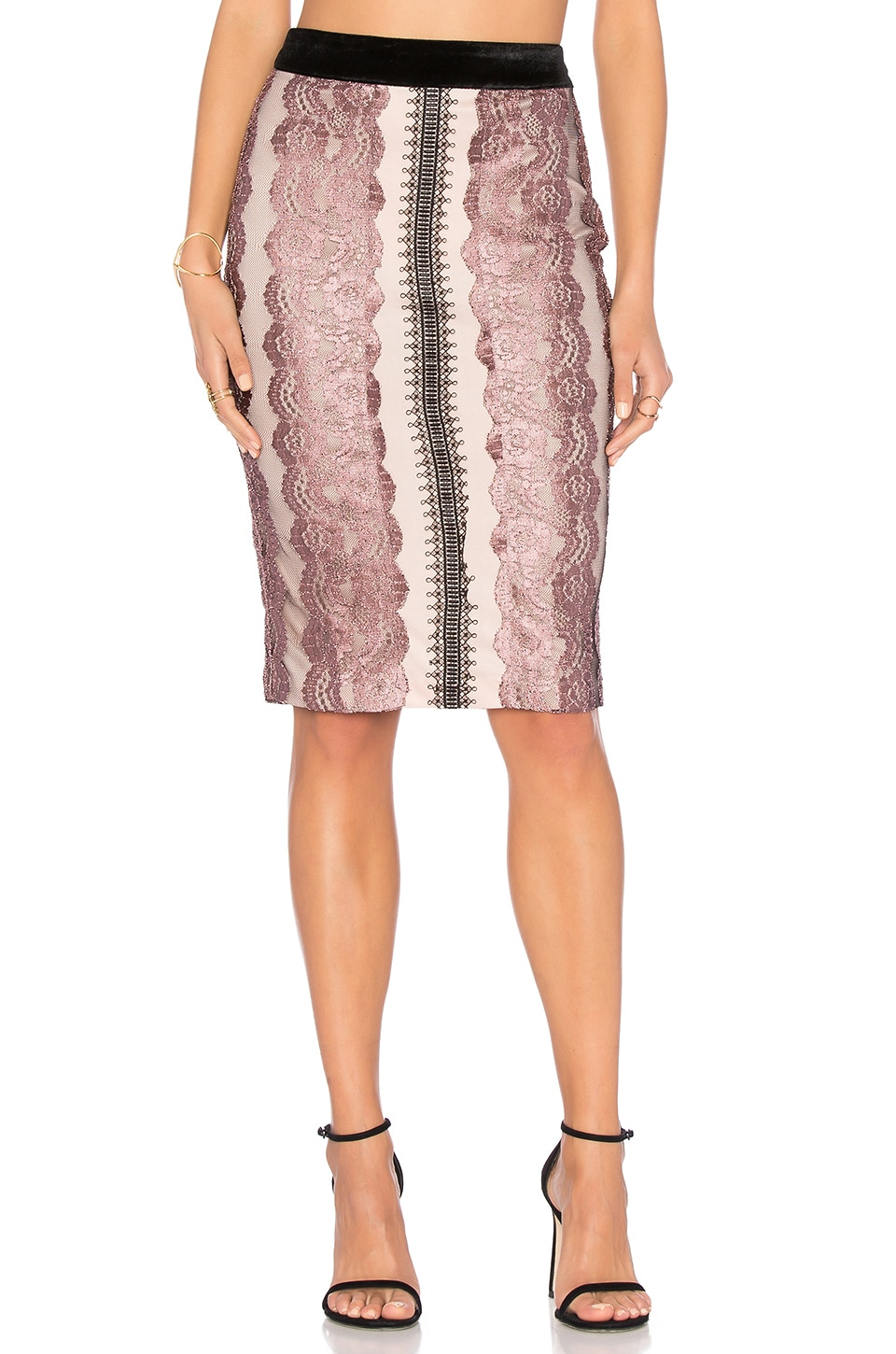 Lace Midi Skirt by Endless Rose