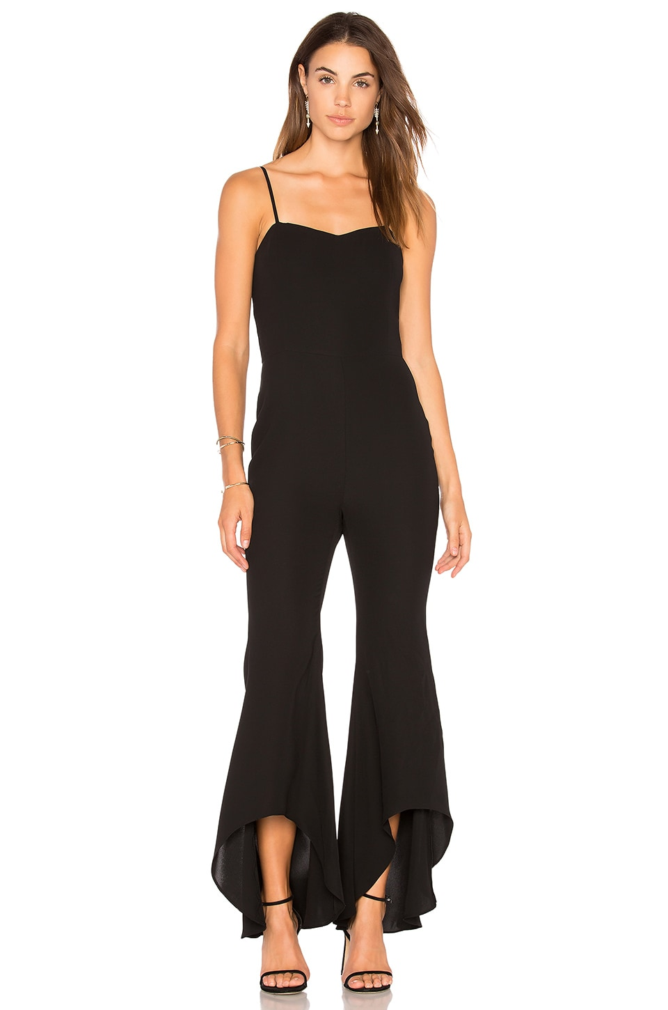 High Low Flare Jumpsuit by Endless Rose