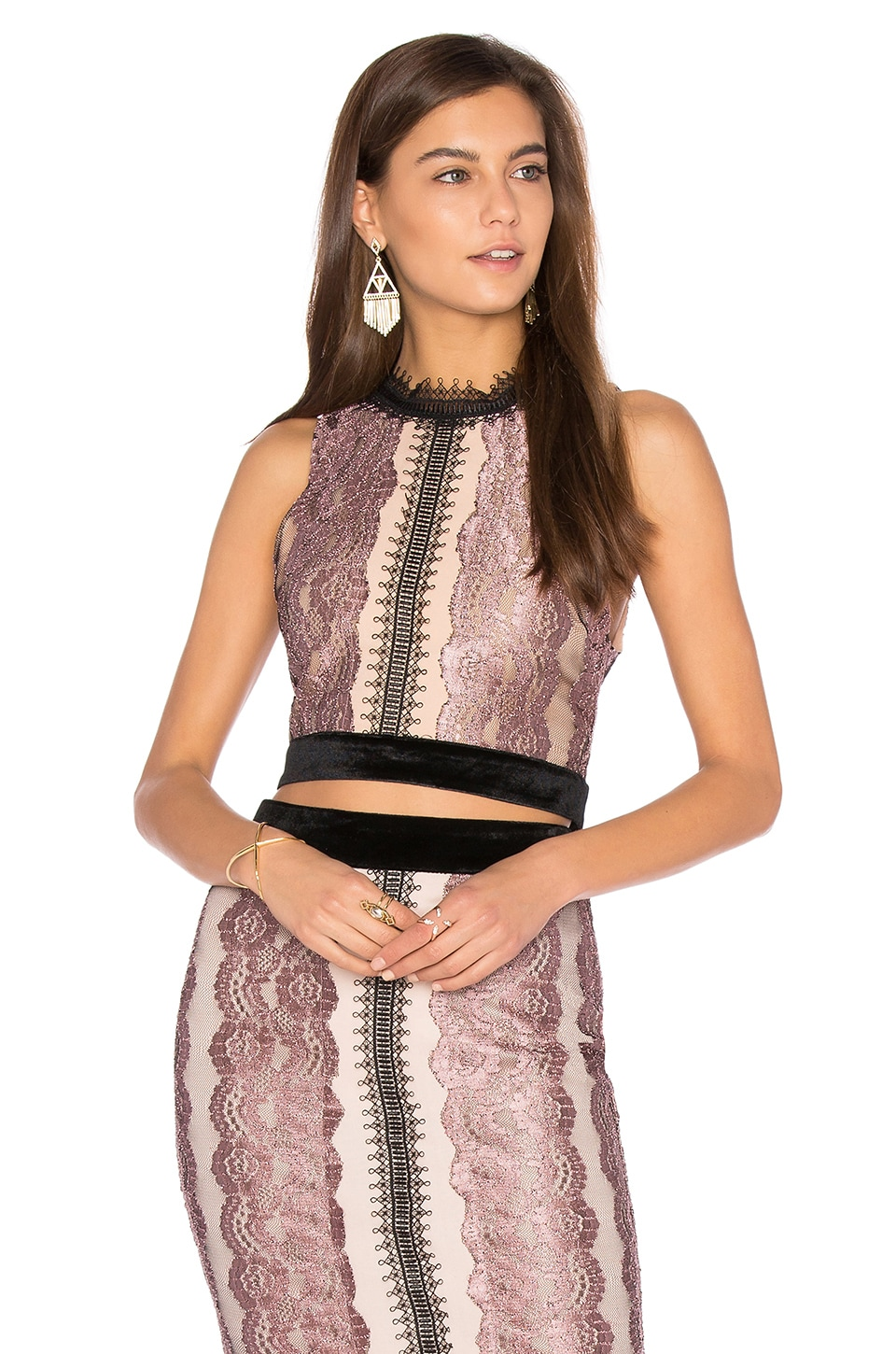 Sleeveless Lace Tank by Endless Rose